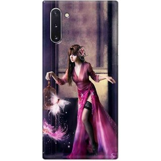 Digimate Hard Matte Printed Designer Cover Case For Samsung Galaxy Note 10