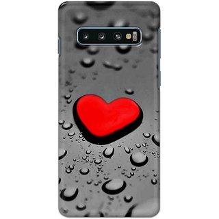 Digimate Hard Matte Printed Designer Cover Case For Samsung Galaxy S10