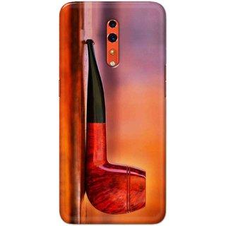 Digimate Hard Matte Printed Designer Cover Case For OPPO Reno Z - 0039