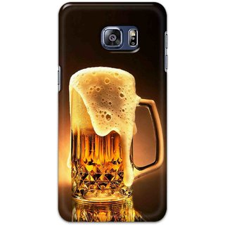 Digimate Hard Matte Printed Designer Cover Case For Samsung Galaxy S6 Edge Plus