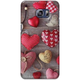 Digimate Hard Matte Printed Designer Cover Case For Samsung Galaxy S6 Edge Plus