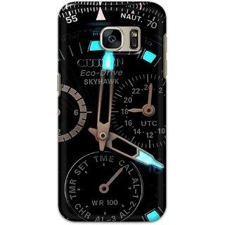 Digimate Hard Matte Printed Designer Cover Case For Samsung Galaxy S7