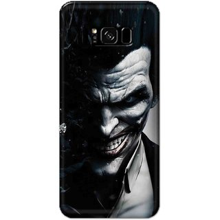 Digimate Hard Matte Printed Designer Cover Case For Samsung Galaxy S8