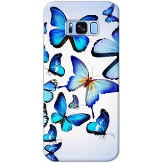 Digimate Hard Matte Printed Designer Cover Case For Samsung Galaxy S8 Plus