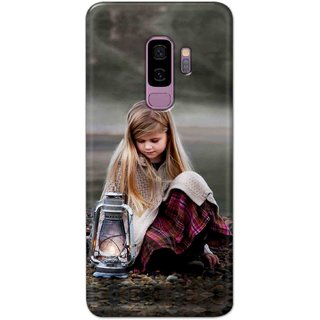 Digimate Hard Matte Printed Designer Cover Case For Samsung Galaxy S9 Plus