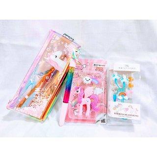 Gifthouse Economical Unicorn Theme Birthday Return Gift Combo