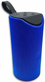TG 113 Bluetooth Wireless Speaker with Double Speakers   Bass Stereo Quality Sound/Frequency/Noice Cancelling  Blue