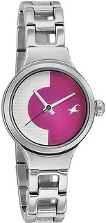 Spiked Analog Watch for Women NK6134SM02
