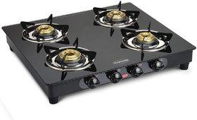 Padmini 4 Burner Glass Top Cooktop CS 4GT Shine Automatic