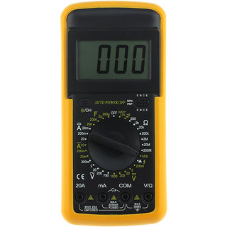 LCD Digital Voltmeter Ohmmeter Ammeter OHM Multimeter Multi Test Meter -01