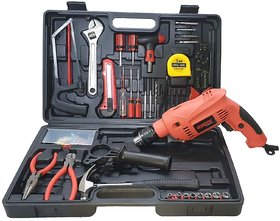 Homepro Electric GSB 500W 10 RE Professional Tool Kit, MS and Plastic (Blue, Pack of 100)