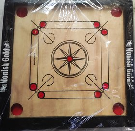 gsi quality carrom board smooth surface and engineered wood
