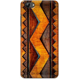Digimate Hard Matte Printed Designer Cover Case For Vivo Y71i