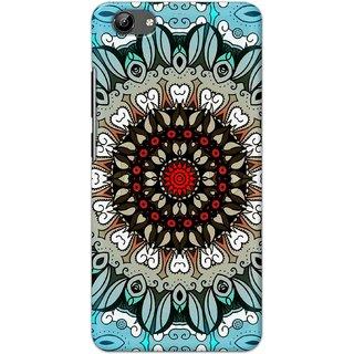 Digimate Hard Matte Printed Designer Cover Case For Vivo Y71