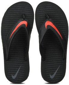 Nike Black Flip Flops For Men