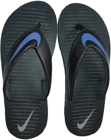 Nike Thong Blue and Black Thong Flip Flop