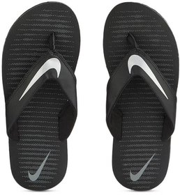 Nike Thong Black-Silver Flip Flops For Men