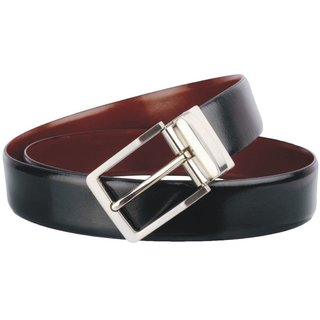 Men's Pure-Leather Belt Casual  Formal (Size 28 Brown )