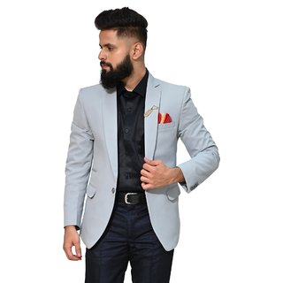 Mr. Dulha - Men's Slimfit Blazer with Accessories (Brooch)