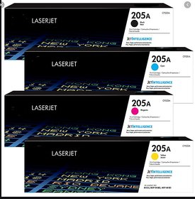 HP 205A Toner Cartridge Pack Of 4 For Use M154,MFP M180,MFP M181