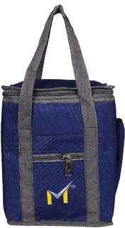 SMS BAG HOUSE Waterproof Lunch/Hand Bag for Men  Women - Blue