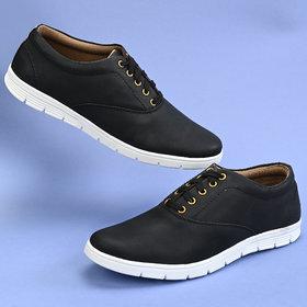 Groofer Men's Tan Smart casual Sneakers Shoes