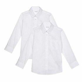 Kaku Fancy Dresse Plain White Shirt for Kids