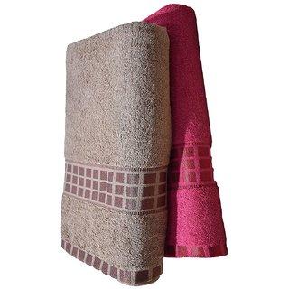 Z decor Cotton Bath Towel set of 2 (30x60inch)