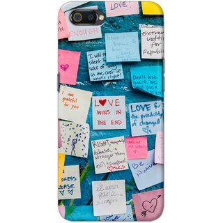 Digimate Hard Matte Printed Designer Cover Case For Oppo Realme C2
