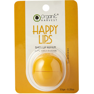 Organic Harvest Shea Butter Lip Balm, 10gm