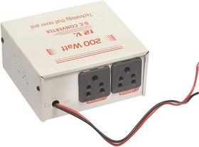 JAMUS 12V 200 Watts Converter for DC/Battery to AC