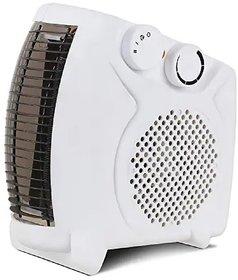 Amrit 100SF Heat Blow  Noiseless Room Fan Heater White 1000 / 2000 watts (RANDOM NAME)