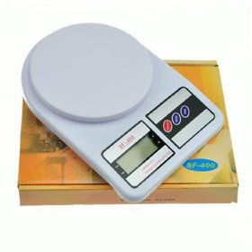 Shop Stoppers  SF-400 Kitchen Scale Multipurpose Portable Electronic Digital Weighing Scale Weight Machine
