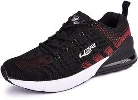 Lancer Men's Black Sports Running Shoes