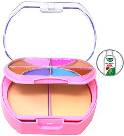 T.Y.A Good Choice India Makeup Kit, 8 Eyeshadow,  2 Compact, 3 Lip Color, (6099-2), 26g