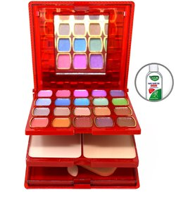 T.Y.A Good Choice India Makeup Kit, 20 Eyeshadow, 3 Blusher, 2 Compact, 5 Lip Color, (6146-2), 34g