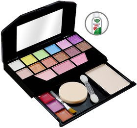 T.Y.A Good Choice India Makeup Kit, 12 Eyeshadow, 3 Blusher, 1 Compact, 3 Lip Color, (5024), 15g