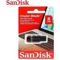 SANDISK 8  GB USB PENDRIVE