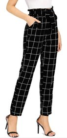 Westchic Women's Black Check Pajama