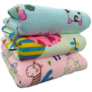 Z decor Cotton Baby Bath Towel set of 1 (19x38inch)