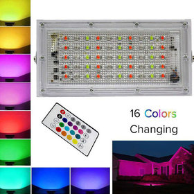 Editing product Stylopunk 50 Watts IP 65 Flood Light RGB - Pack of 1 (RGB)