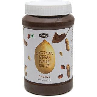 Gleenz - Chocolate Sprade Peanut Butter - Creamy - 1 KG