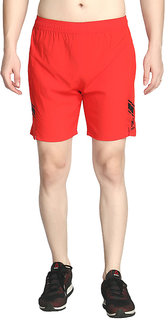Exceed Sports Men's Red Gym Shorts