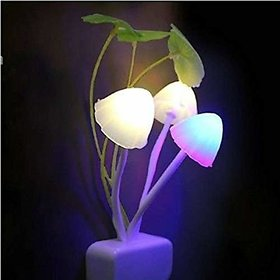 Fashion mystery  Mushroom light autometic sensor night lamp Night Lamp  (13 cm, Multicolor)