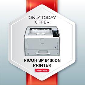 Ricoh SP-6430DN Single Function B/W Laserjet A3 Size Printer
