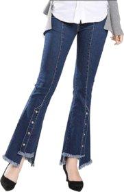 TNQ Women's Denim Jeans/Flared Denim/Joggers/Denim Palazzo