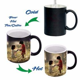 Personalized Coffee Cup Photo New Color Changing Tea Coffee Mug 11 Oz Heat Sensitive Magic Mugs