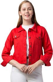 retrobella Full Sleeve Solid Women Jacket