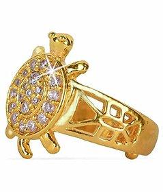 Gold Platted  Tortoise Meru Ring