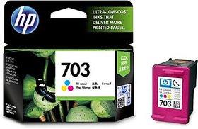 HP 703 Tri Color Ink Cartridge